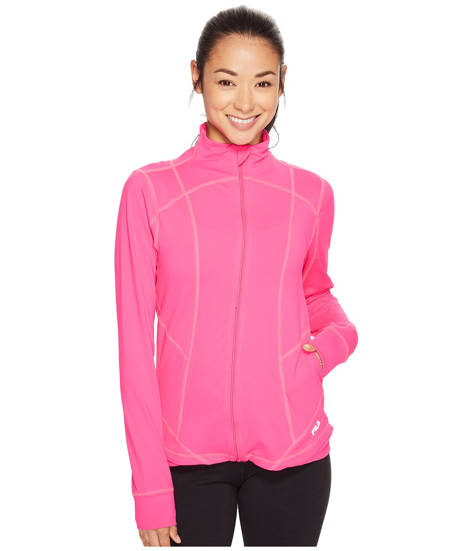 Fila - Circuit Jacket (Pink Glo) Women's Coat