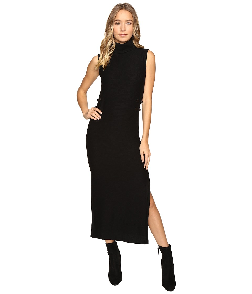 Brigitte Bailey - Sheri Sleeveless Turtleneck Sweater Dress (Black) Women's Dress