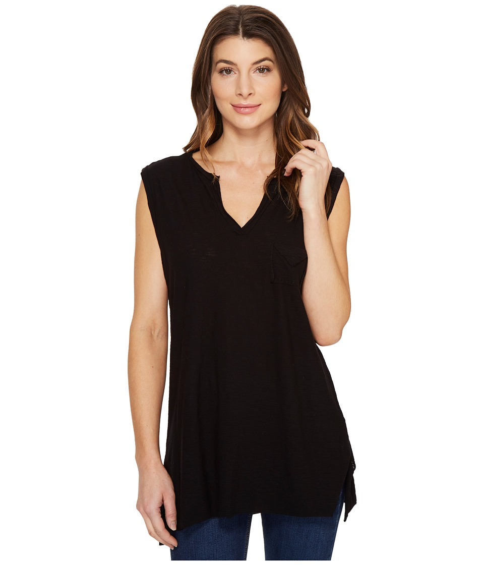 Culture Phit - Nima Sleeveless Top with Pocket (Black) Women's Sleeveless
