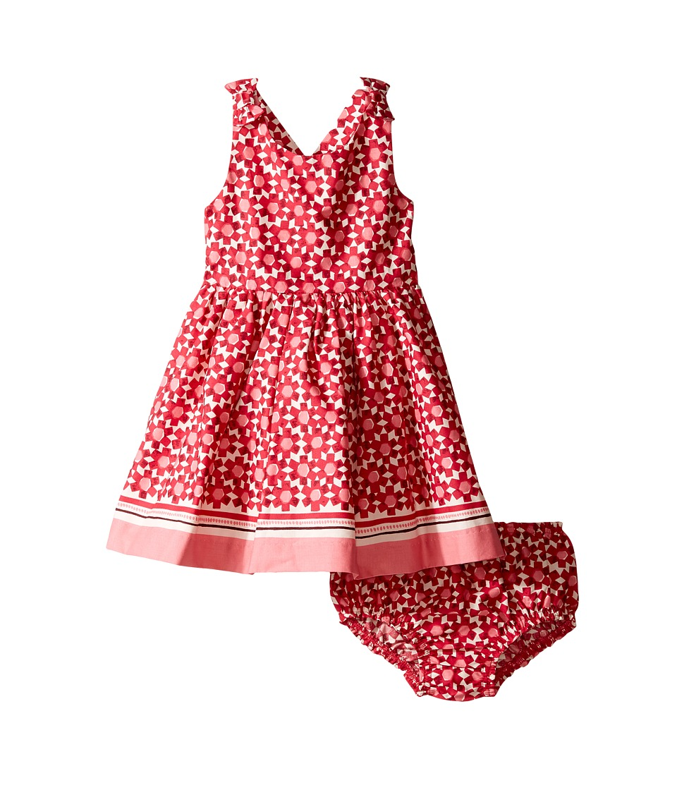 Kate Spade New York Kids - Border Print Dress Set (Infant) (Floral Tile) Girl's Dress
