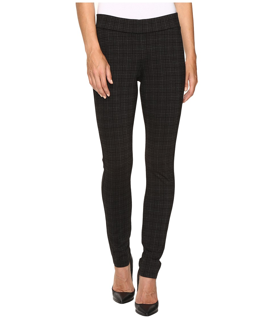 NYDJ - Jodie Pull-On Ponte Knit Leggings in Houndstooth Tartan Print (Houndstooth Tartan Print) Women's Casual Pants