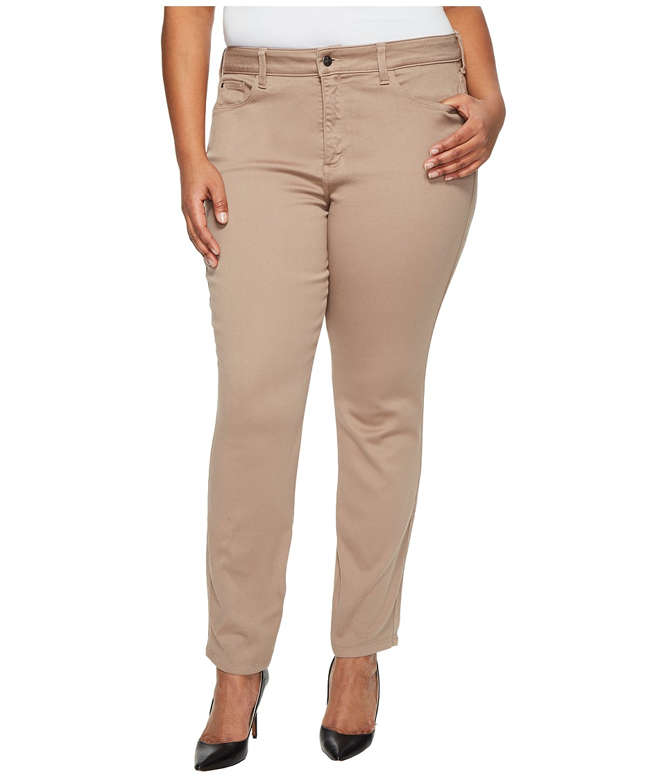 NYDJ Plus Size - Plus Size Alina Leggings in Super Sculpting Denim in Vintage Taupe (Vintage Taupe) Women's Jeans