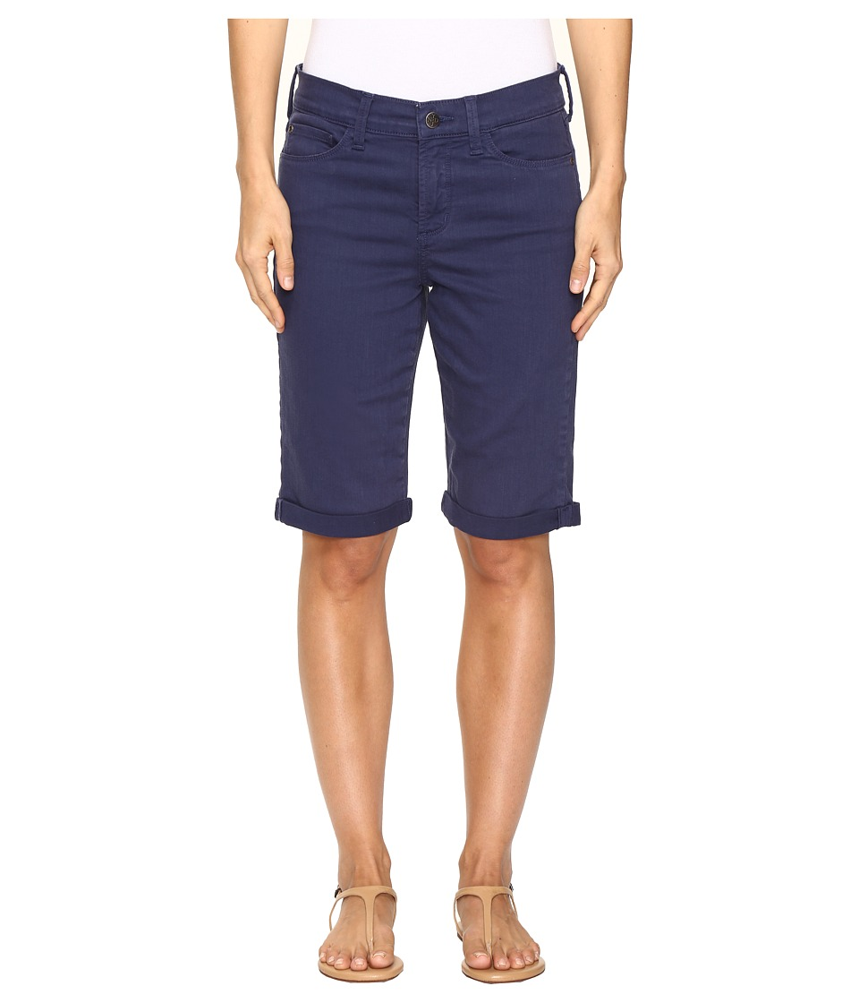 NYDJ - Briella Roll Cuff Shorts in Republique Navy (Republique Navy) Women's Shorts