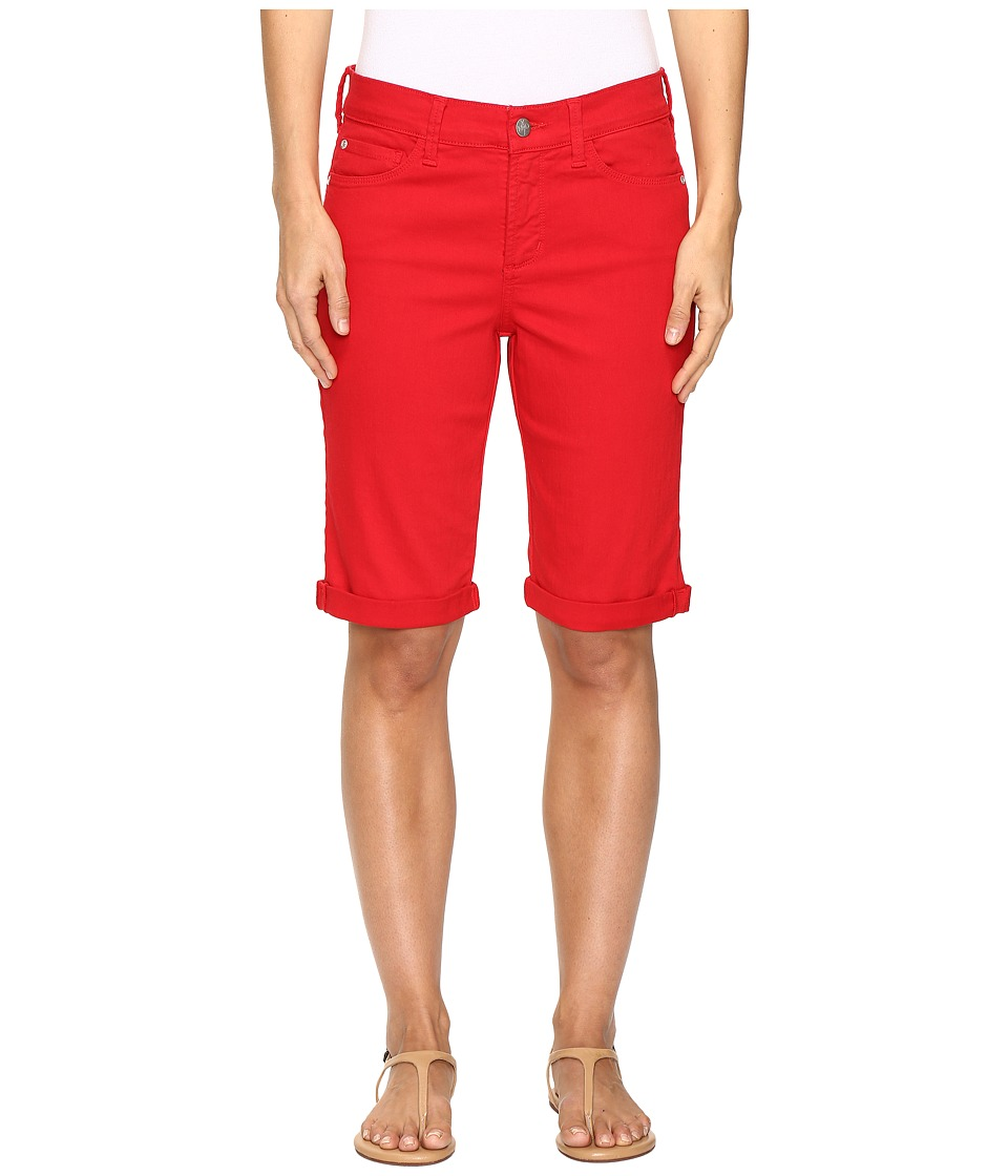 NYDJ - Briella Roll Cuff Shorts in Sweet Strawberry (Sweet Strawberry) Women's Shorts