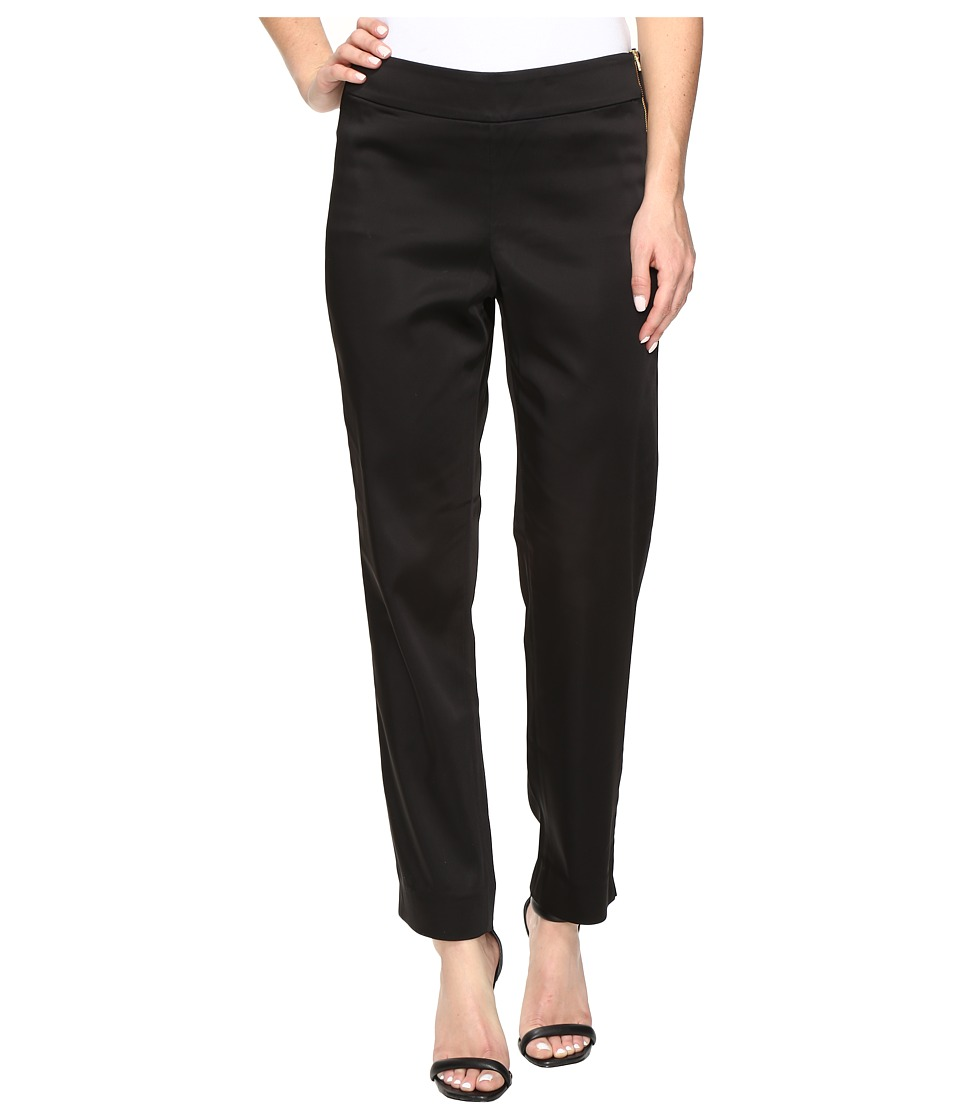 NYDJ - Suzy Side Zip Trousers in Black (Black) Women's Casual Pants