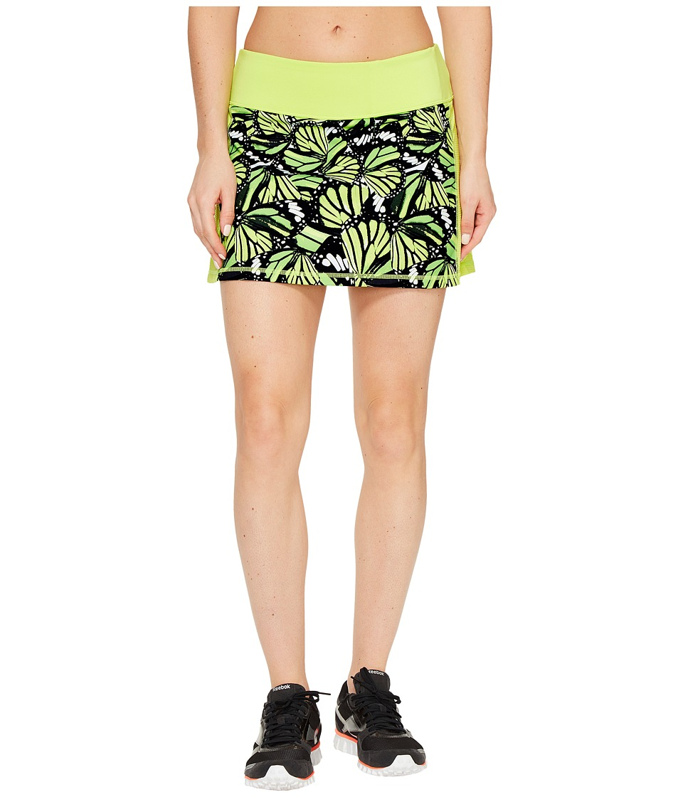 Fila - Camera Ready Skorts (Sharp Green/Butterfly Print) Women's Skort