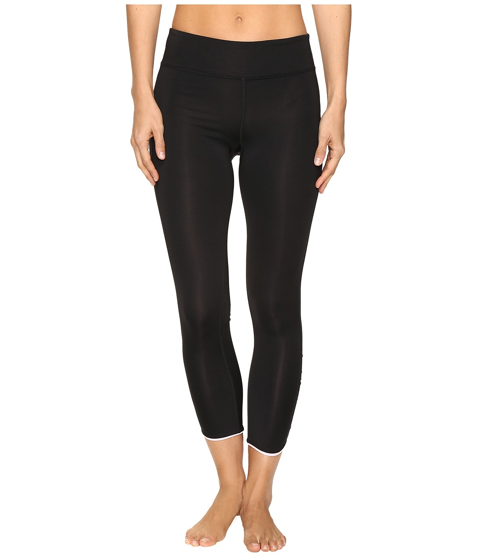 Fila - In Play 3/4 Tights (Black/Ballet Pink) Women's Casual Pants