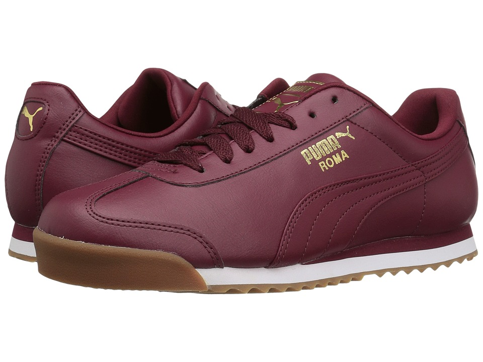 PUMA - Roma Basic Gold (Cabaret/Cabaret) Men's Shoes