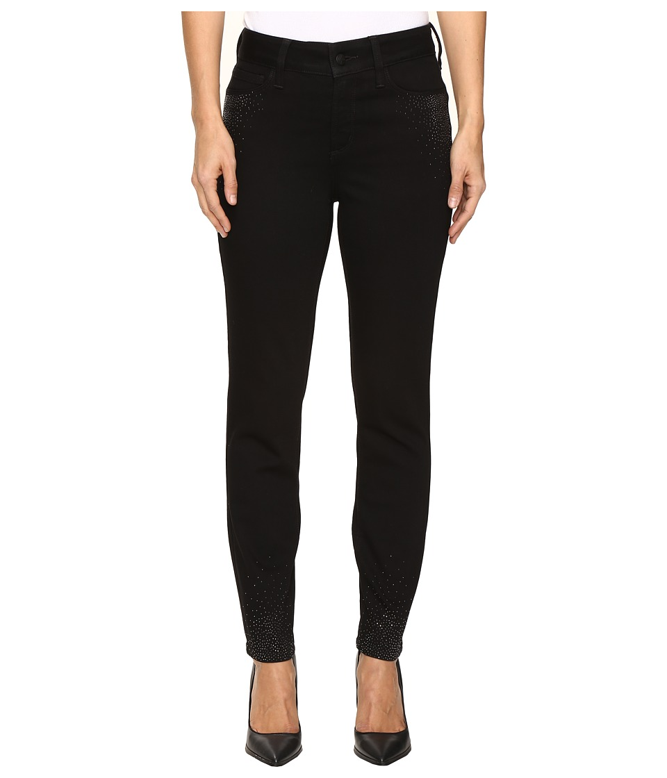 NYDJ - Alina Ankle Scattered Stone in Black (Black) Women's Jeans