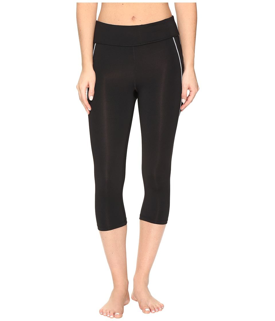 Fila Spirit Tight Capris (Black/White) Women