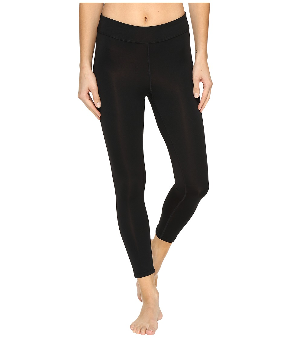 Fila - Dynamic 3/4 Tights (Black/Safety Yellow) Women's Casual Pants