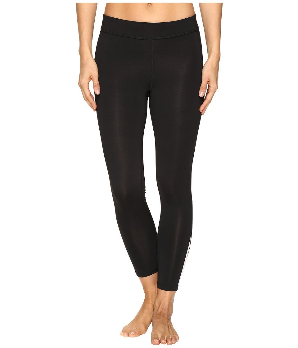 Fila - Dynamic 3/4 Tights (Black/Ballet Pink) Women's Casual Pants