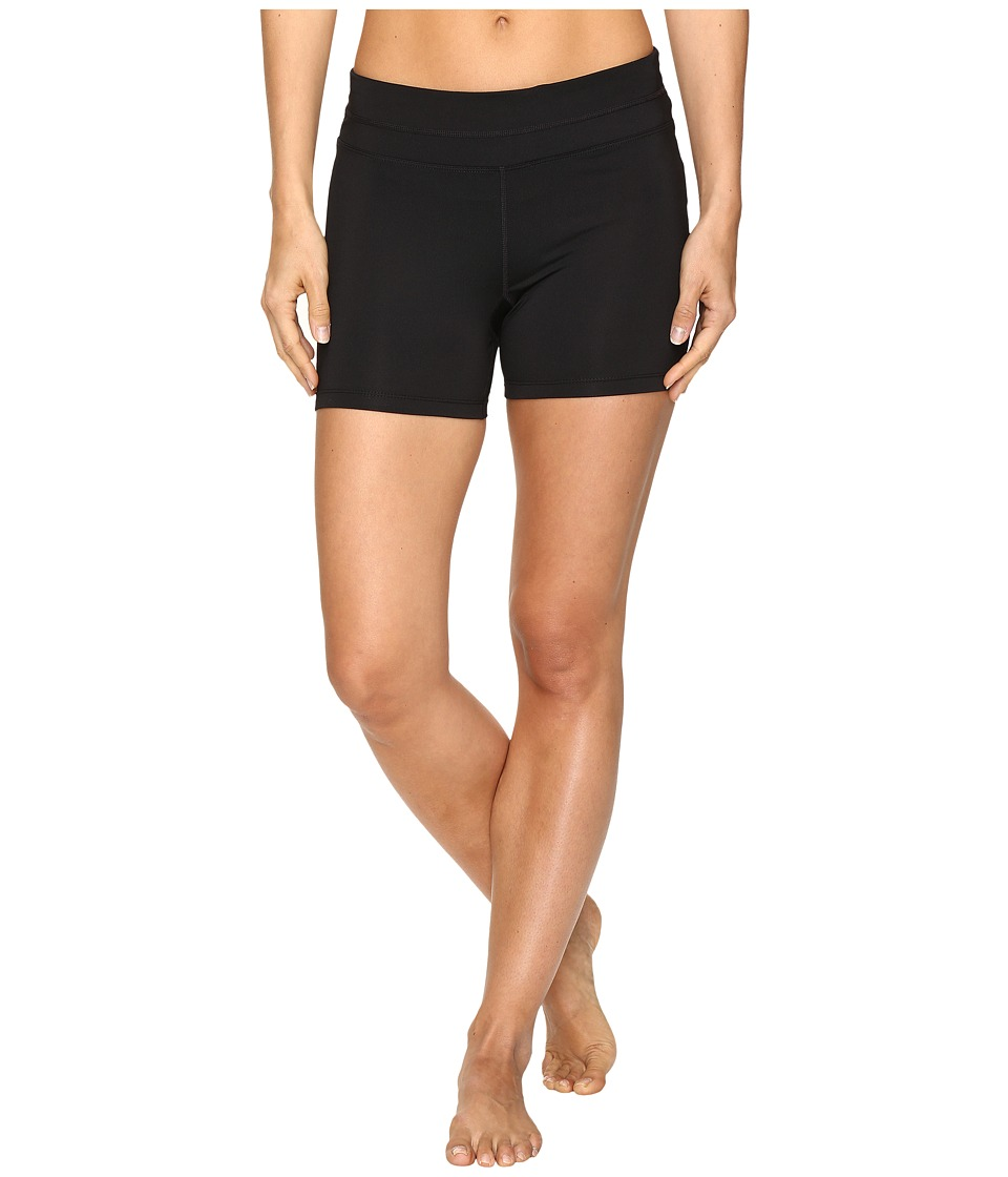 Fila - Breakout Booty Shorts (Black/Black) Women's Shorts