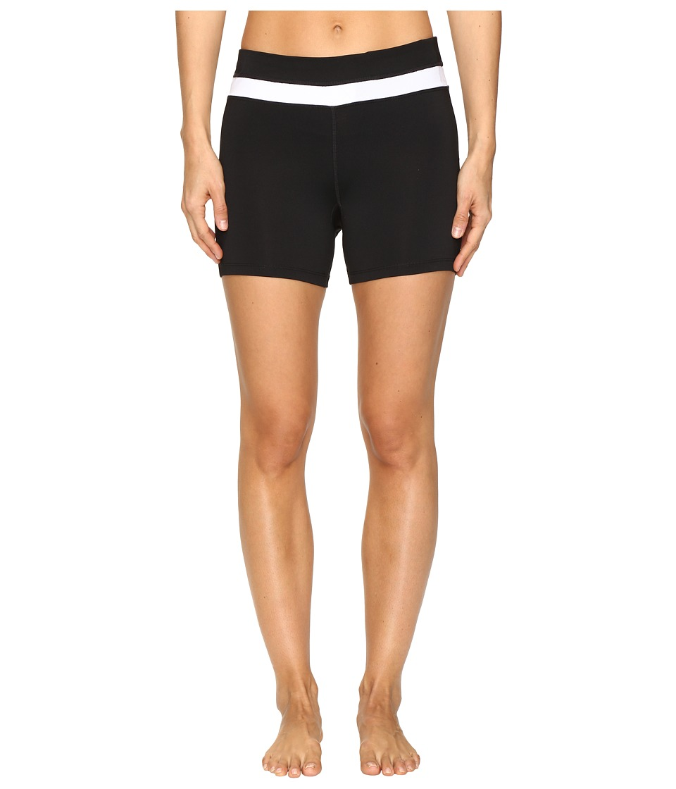 Fila - Breakout Booty Shorts (Black/White) Women's Shorts