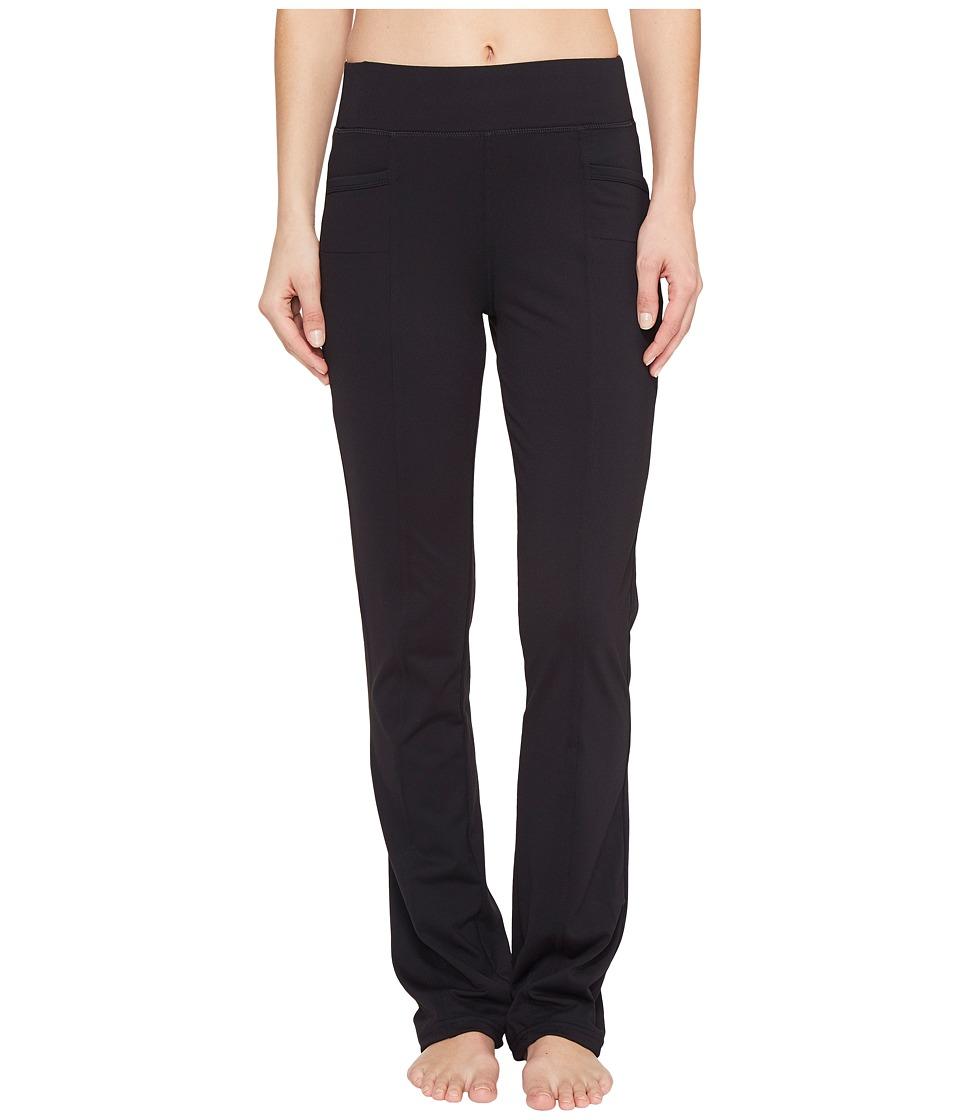 Fila - Benefit Straight Leg Pants (Black) Women's Casual Pants