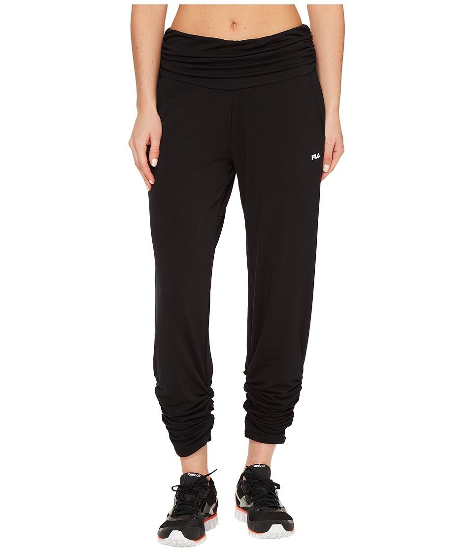 Fila Convertible Length Pants (Black) Women