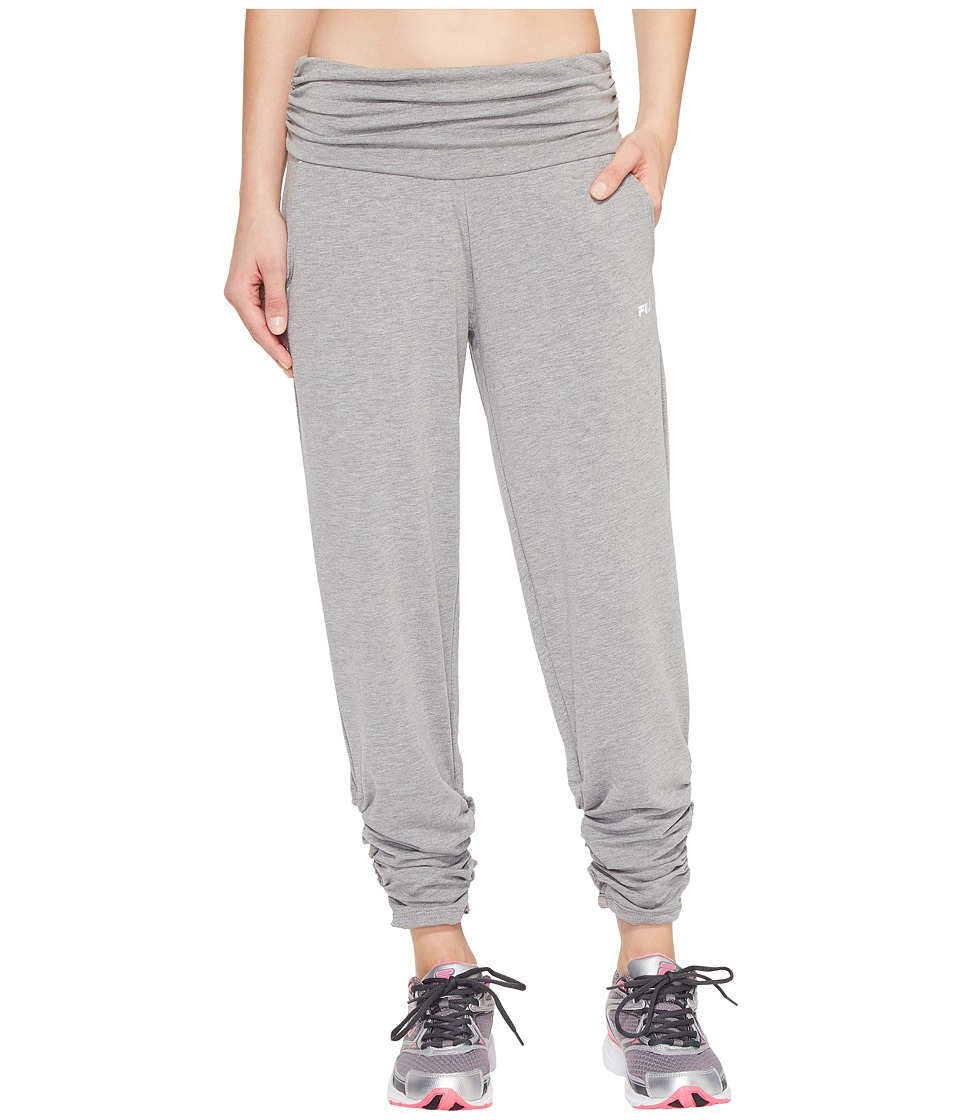 Fila Convertible Length Pants (Varsity Heather) Women