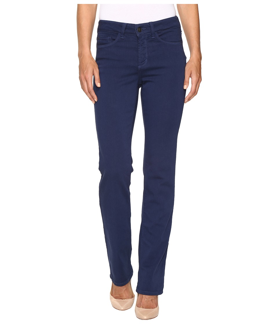 NYDJ - Marilyn Straight in Luxury Touch Denim in Kingston Blue (Kingston Blue) Women's Jeans