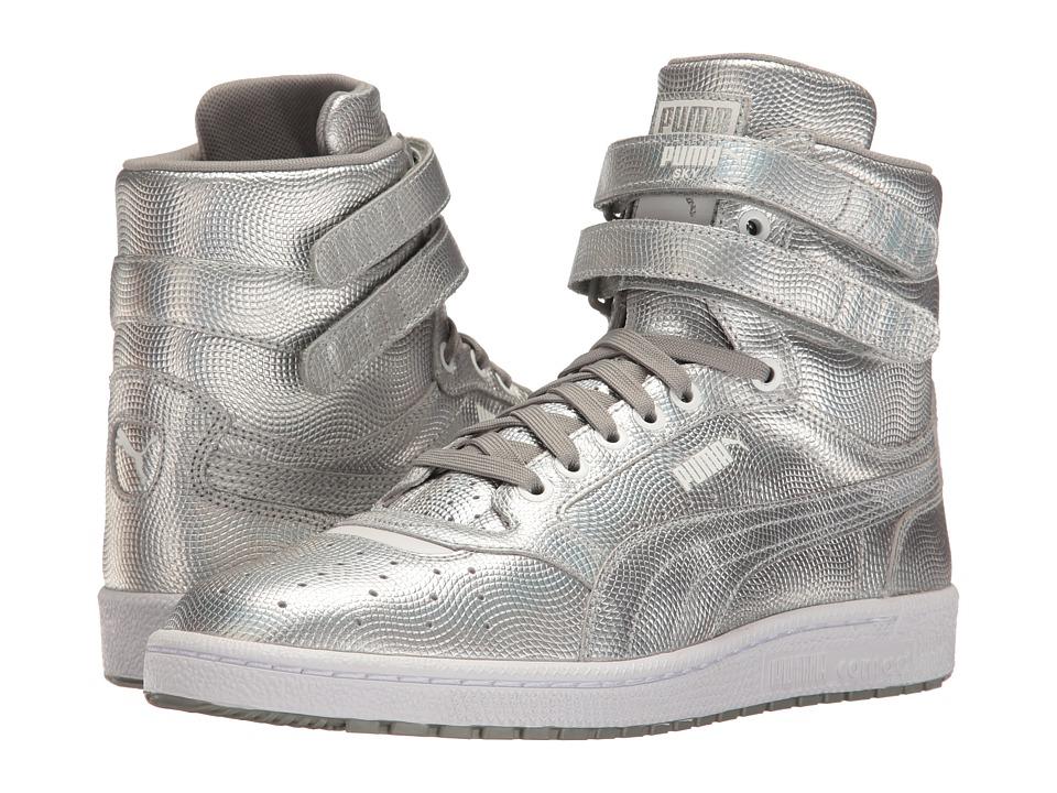 PUMA - Sky II Hi Holo (Silver) Men's Shoes
