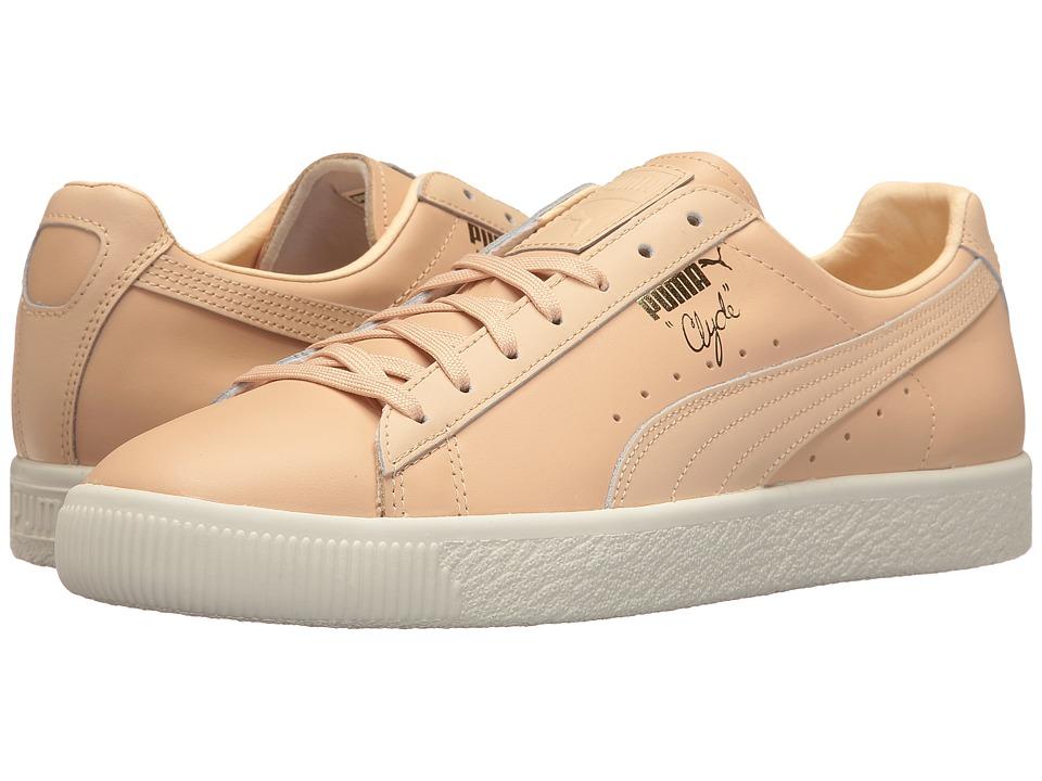 PUMA - Clyde Natural (Natural Vachetta) Men's Shoes