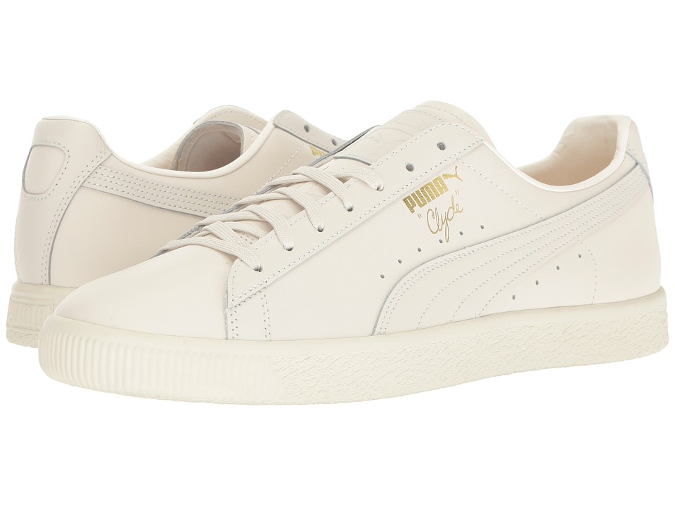 PUMA - Clyde Natural (Star White) Men's Shoes