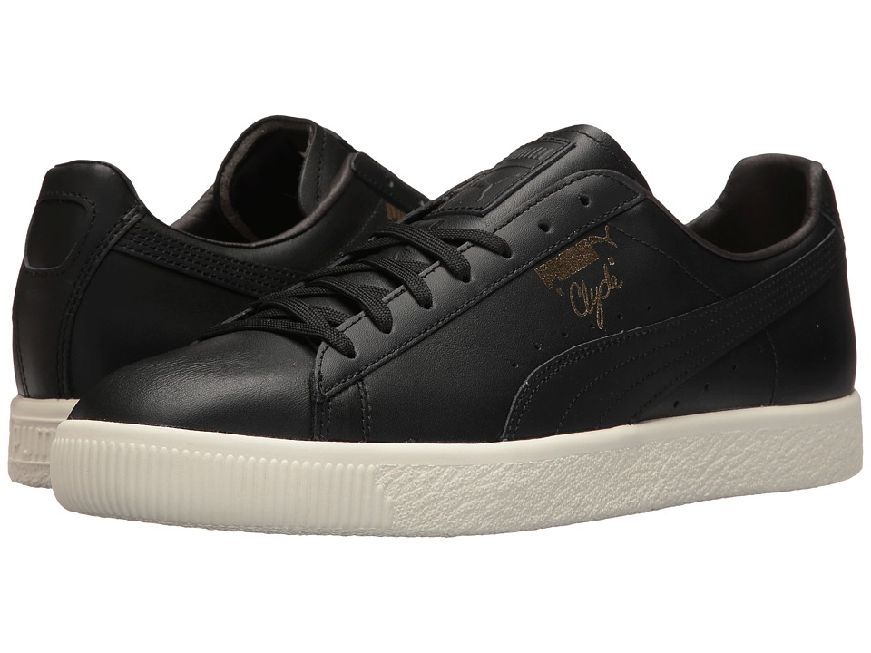 PUMA - Clyde Natural (Puma Black) Men's Shoes