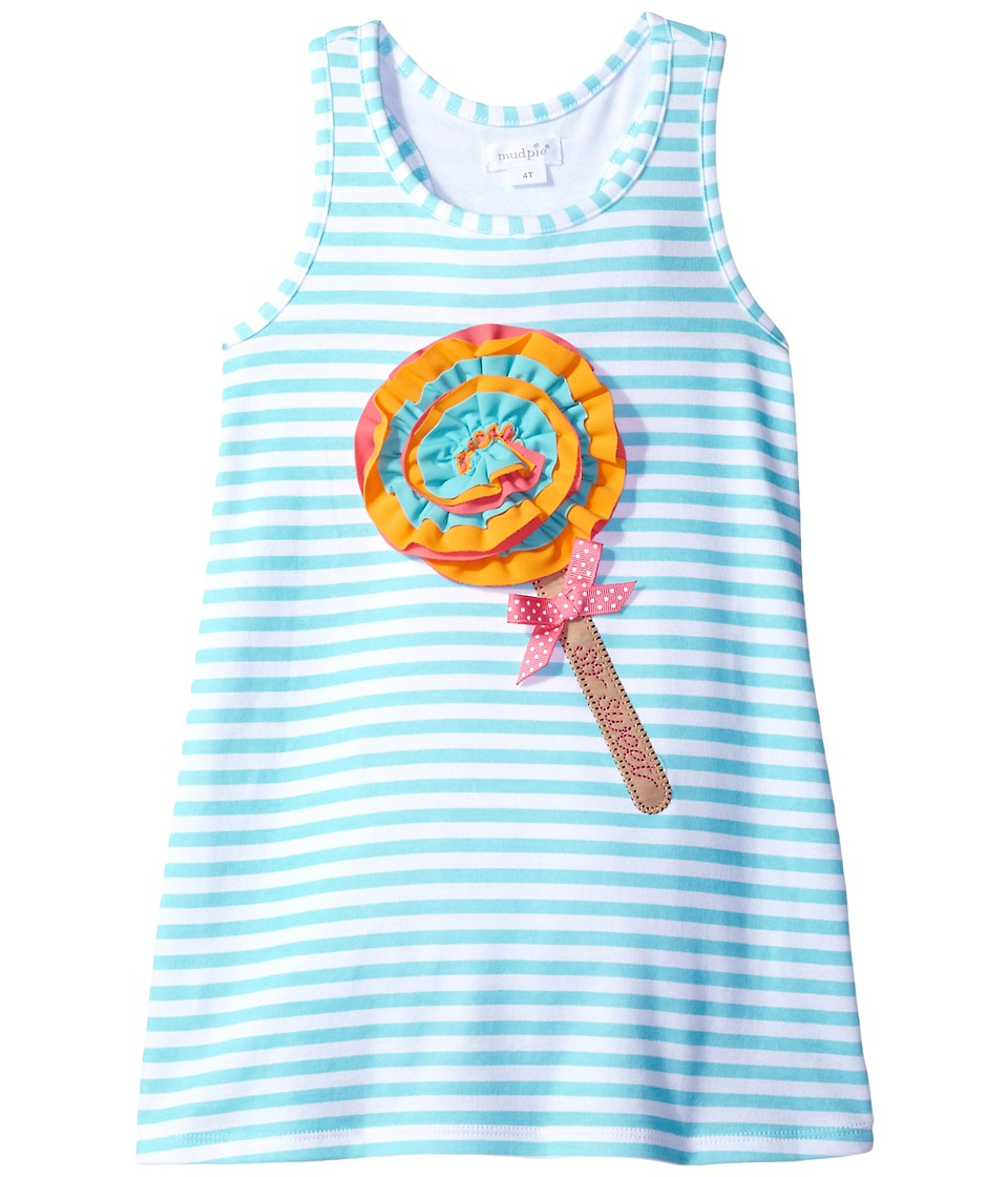 Mud Pie - Popsicle Play Dress (Toddler) (Blue) Girl's Dress