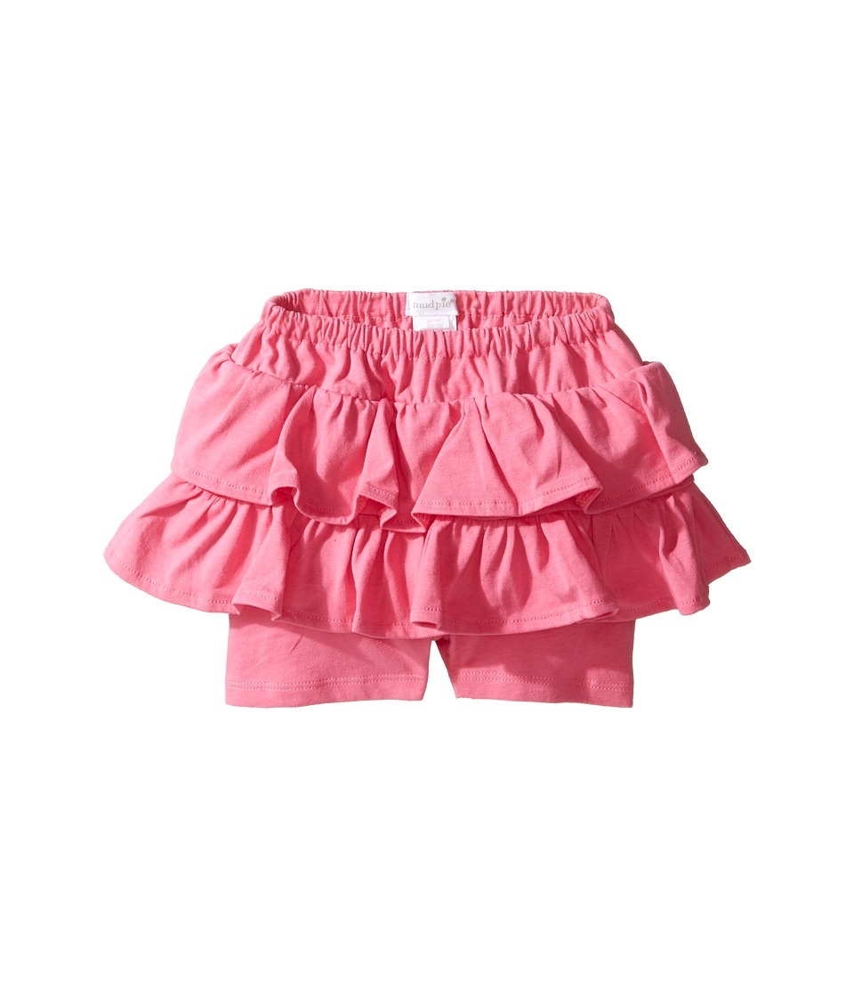 Mud Pie - Pink Skirted Shorts (Infant/Toddler) (Pink) Girl's Skort