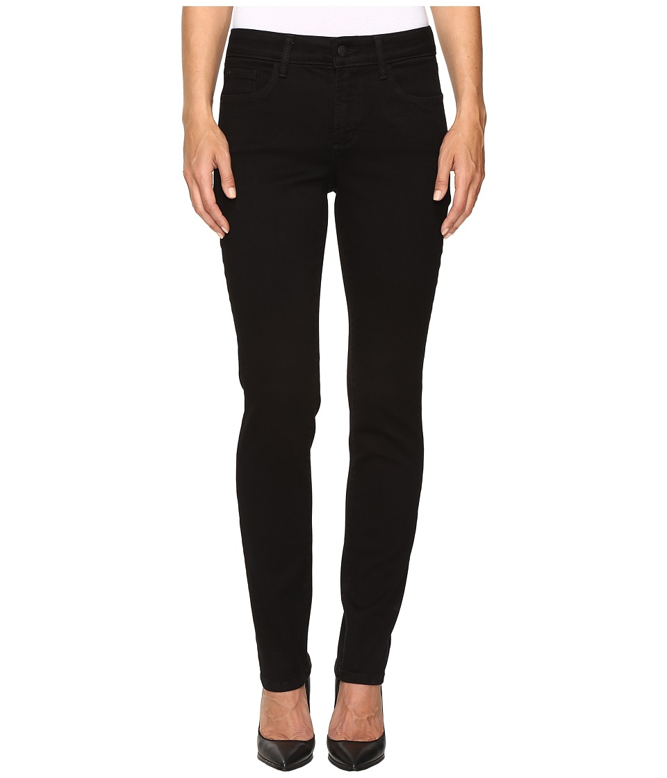NYDJ - Sheri Slim in Super Sculpting Denim in Black (Black) Women's Jeans