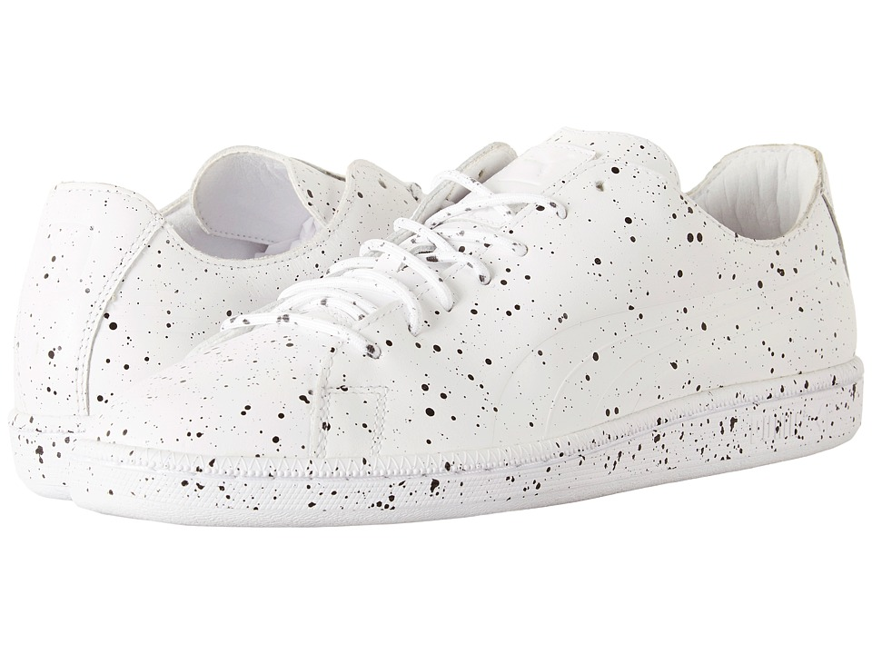 PUMA - Puma X DP Match Splatter (PUMA White) Men's Shoes