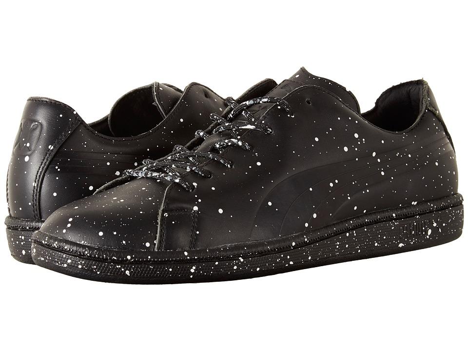 PUMA - Puma X DP Match Splatter (PUMA Black) Men's Shoes