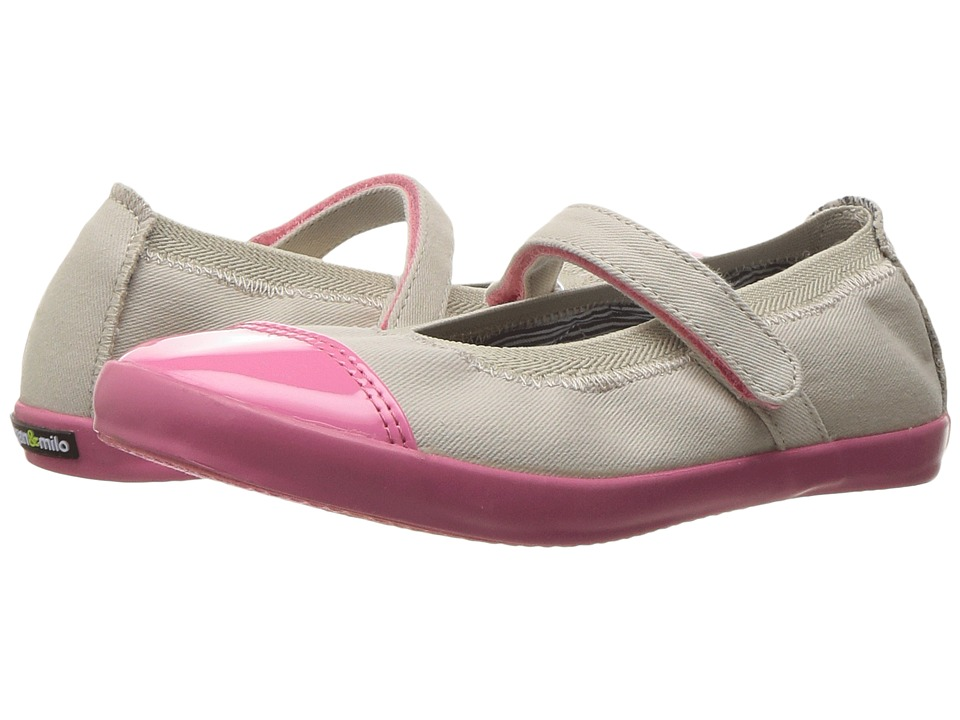 Morgan&Milo Kids - Olivia Mary Jane (Toddler/Little Kid) (Heather Grey) Girls Shoes