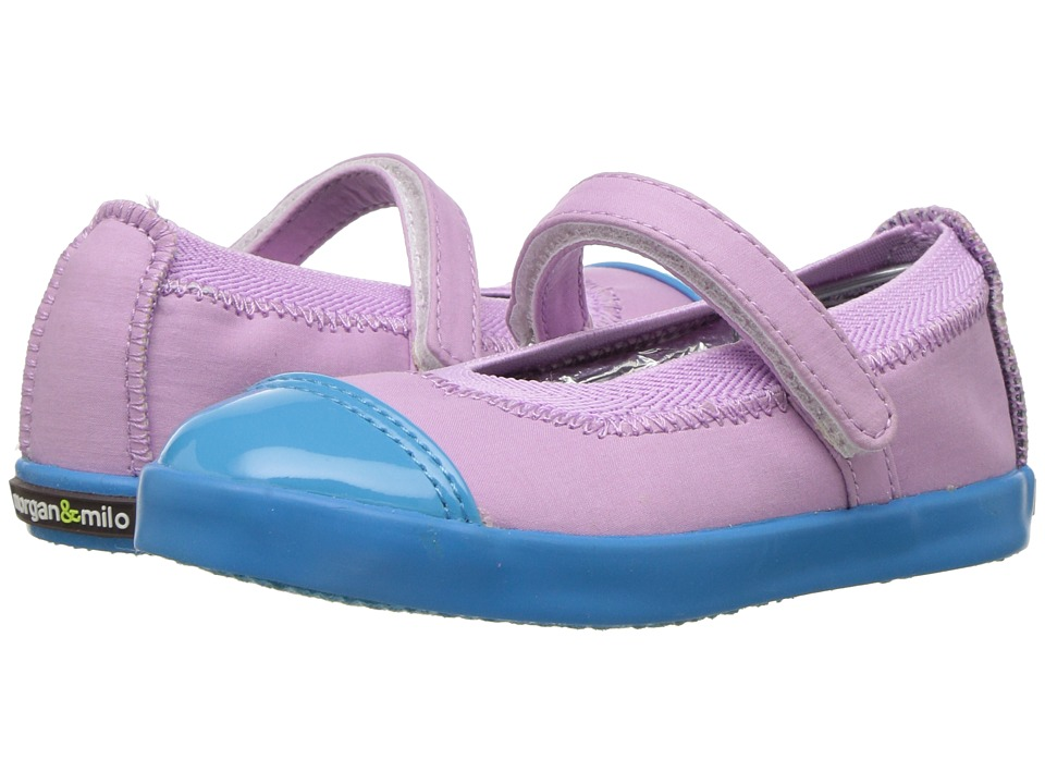 Morgan&Milo Kids - Olivia Mary Jane (Toddler/Little Kid) (Orchid) Girls Shoes