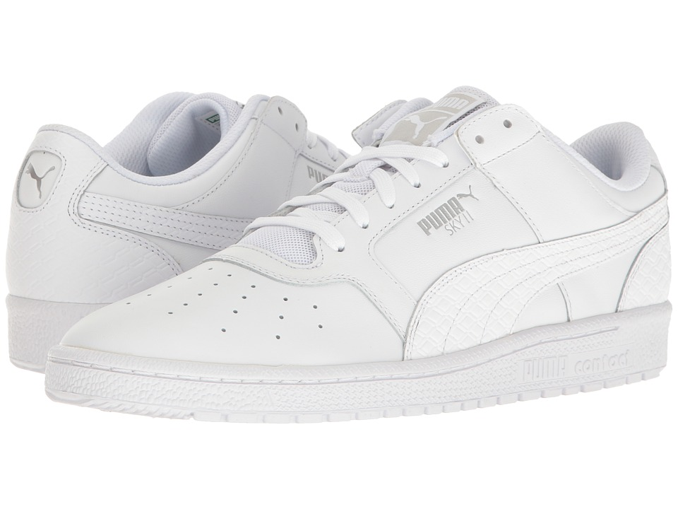 PUMA - Sky II Lo BW (PUMA White) Men's Shoes
