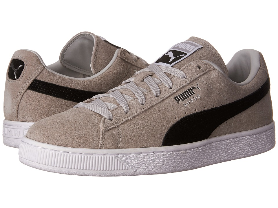 PUMA - Suede Classic + (Gray Violet/Puma Black) Men's Shoes