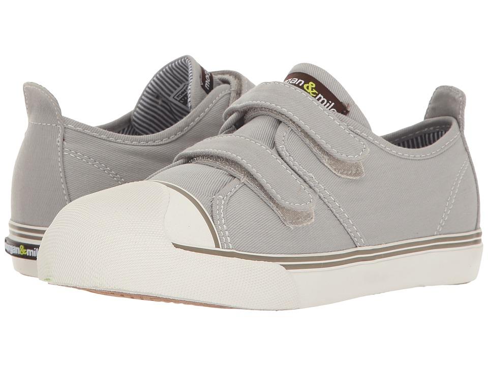 Morgan&Milo Kids - Xander Double Strap (Toddler/Little Kid) (Grey) Boys Shoes