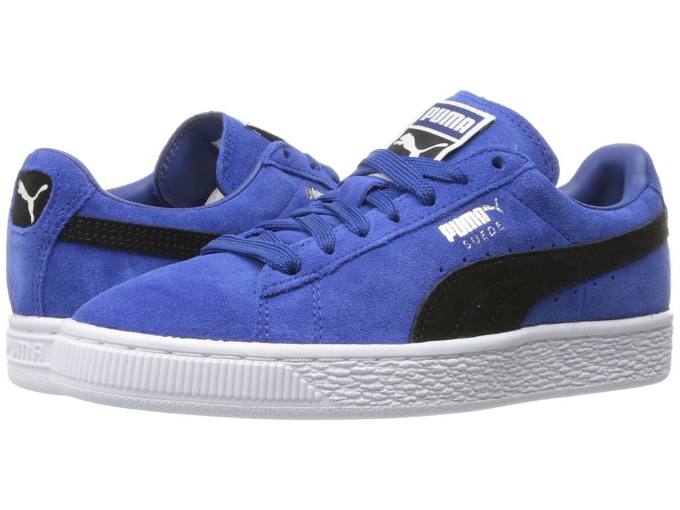 PUMA - Suede Classic + (True Blue/Puma Black) Men's Shoes