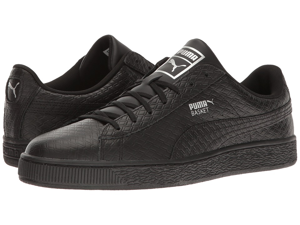PUMA - Basket Classic BW (PUMA Black) Men's Shoes