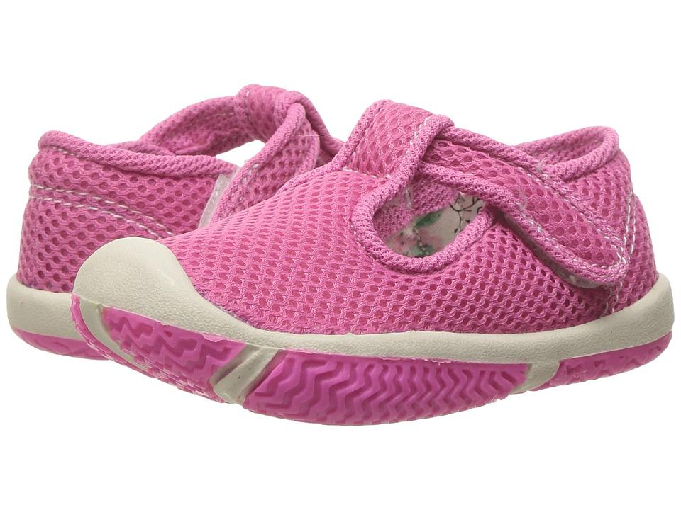 Morgan&Milo Kids - Jackie T-Strap (Toddler) (Neon Pink) Girls Shoes