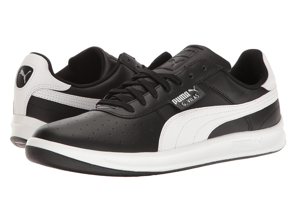 PUMA - G. Vilas 2 (Puma Black/Puma White) Men's Shoes