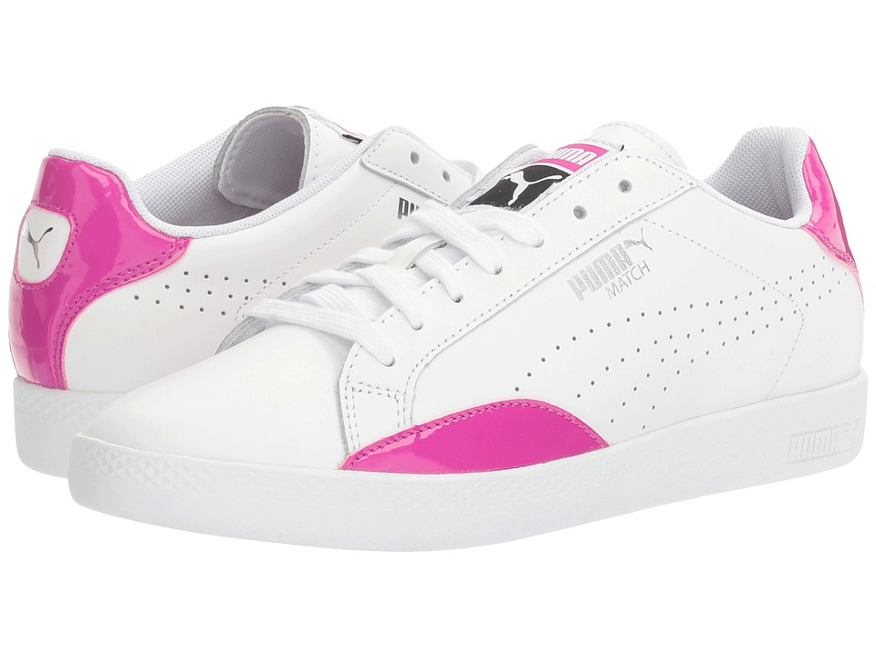 PUMA - Match Basic (Puma White/Ultra Magenta) Women's Shoes