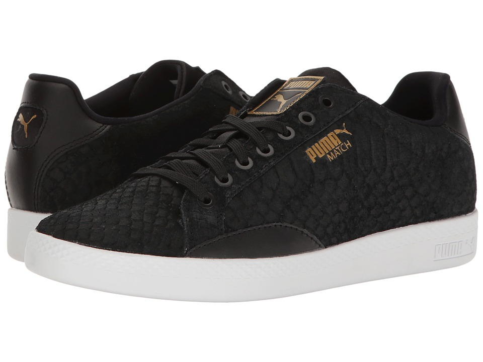 PUMA - Match Exotic Skin (Puma Black/Natural Vachetta) Women's Shoes
