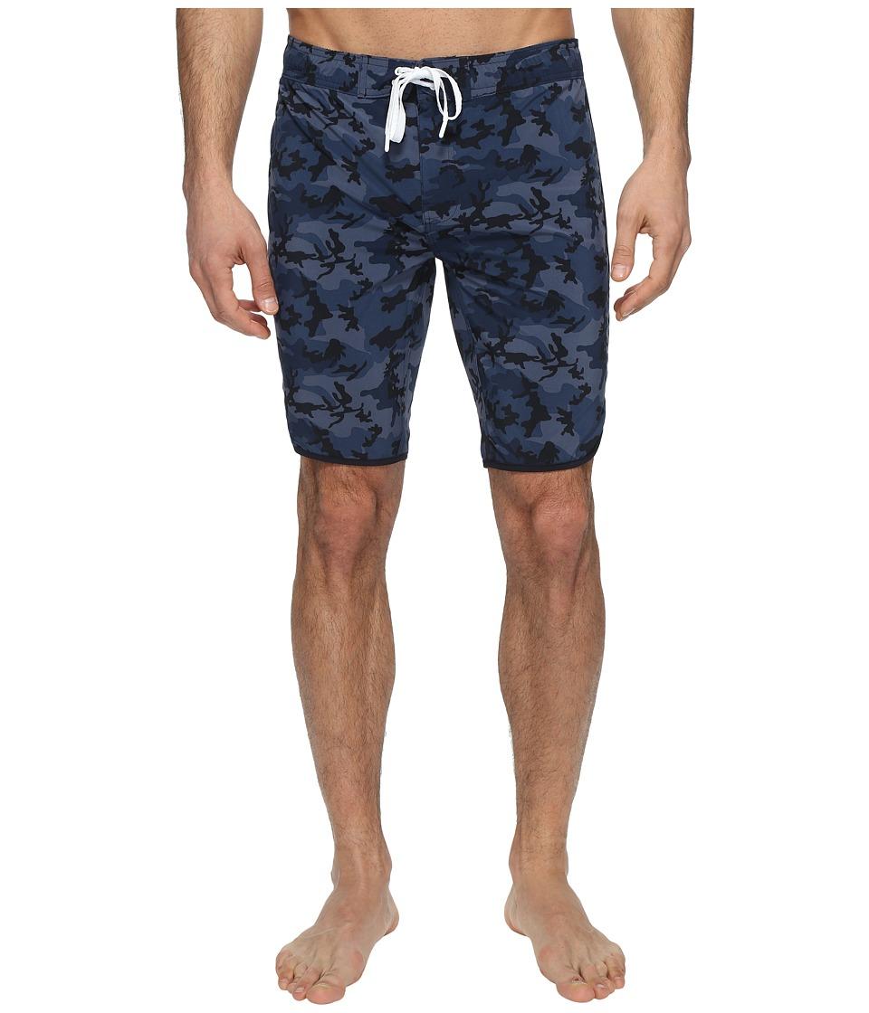 2(X)IST Jogger Slim Boardshorts (Camo Navy) Men