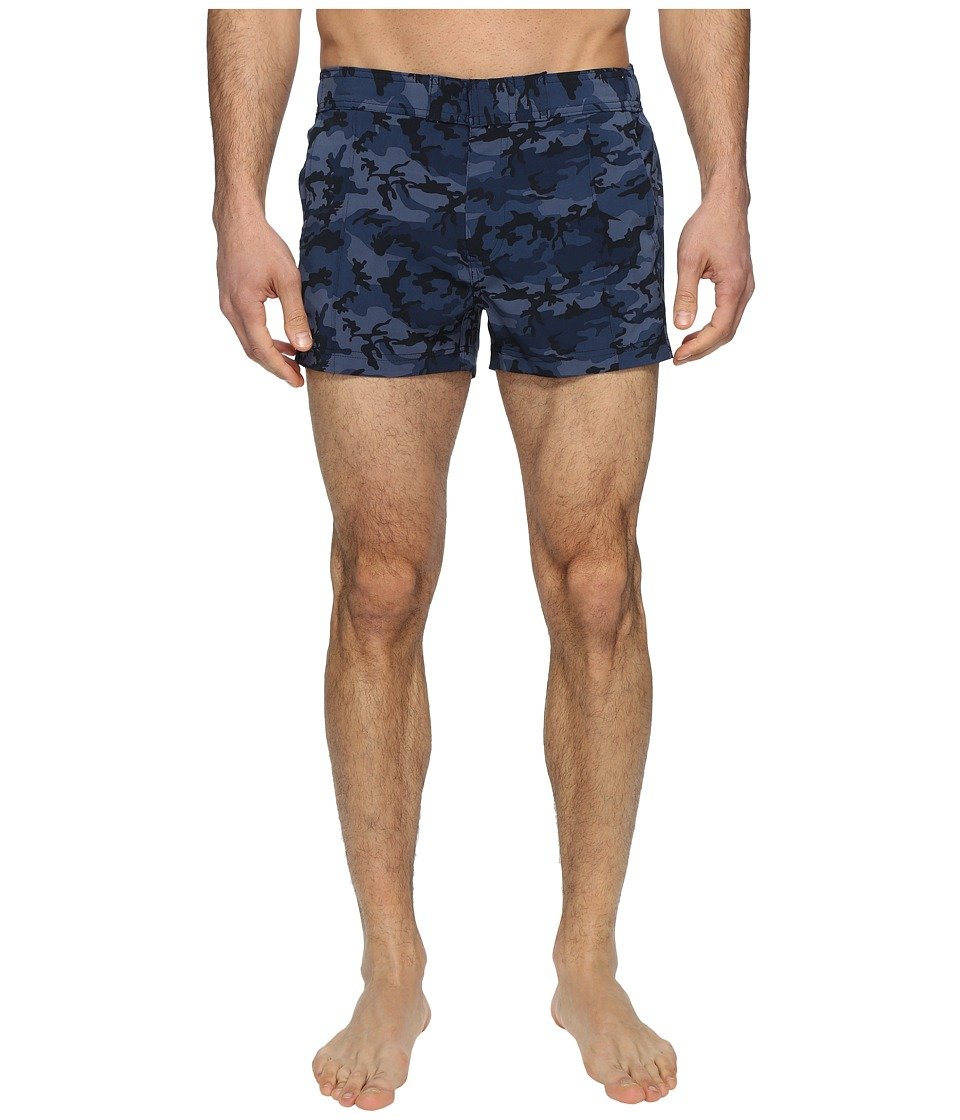 2(X)IST - Yacht (Camo Navy) Men's Swimwear