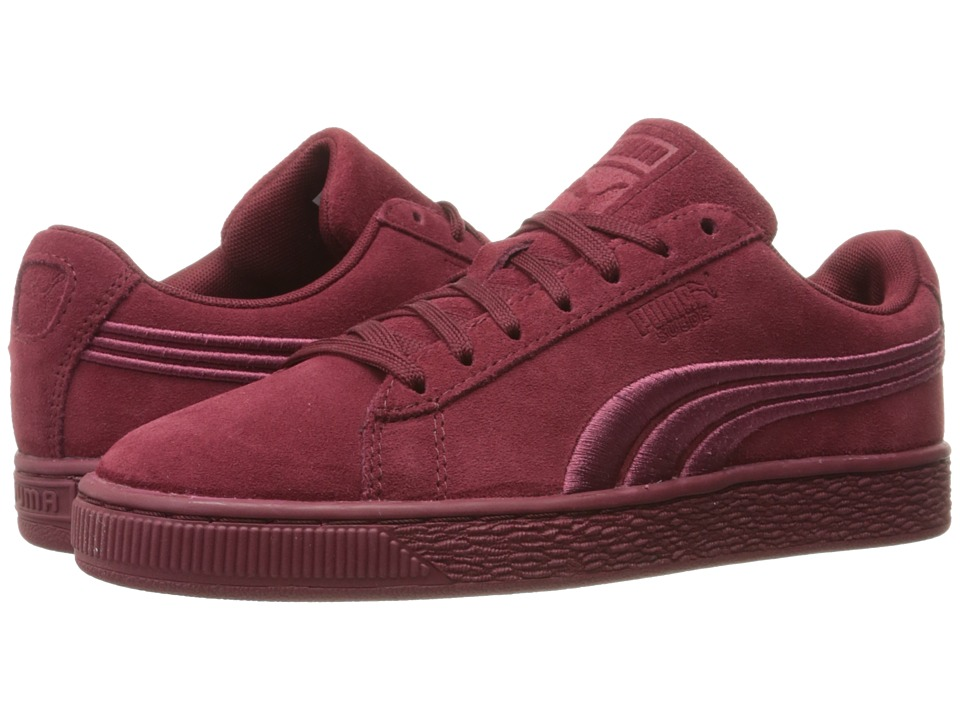 PUMA - Suede Classic Badge (Cabernet) Men's Shoes