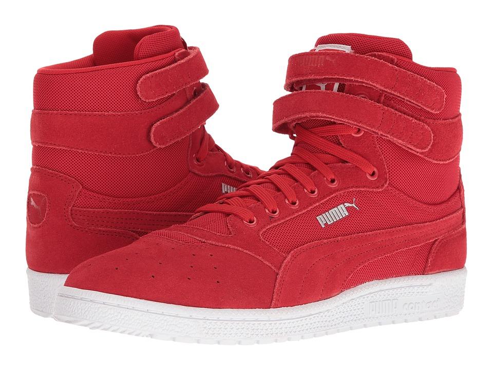 PUMA - Sky II Hi Core (Barbados Cherry) Men's Shoes