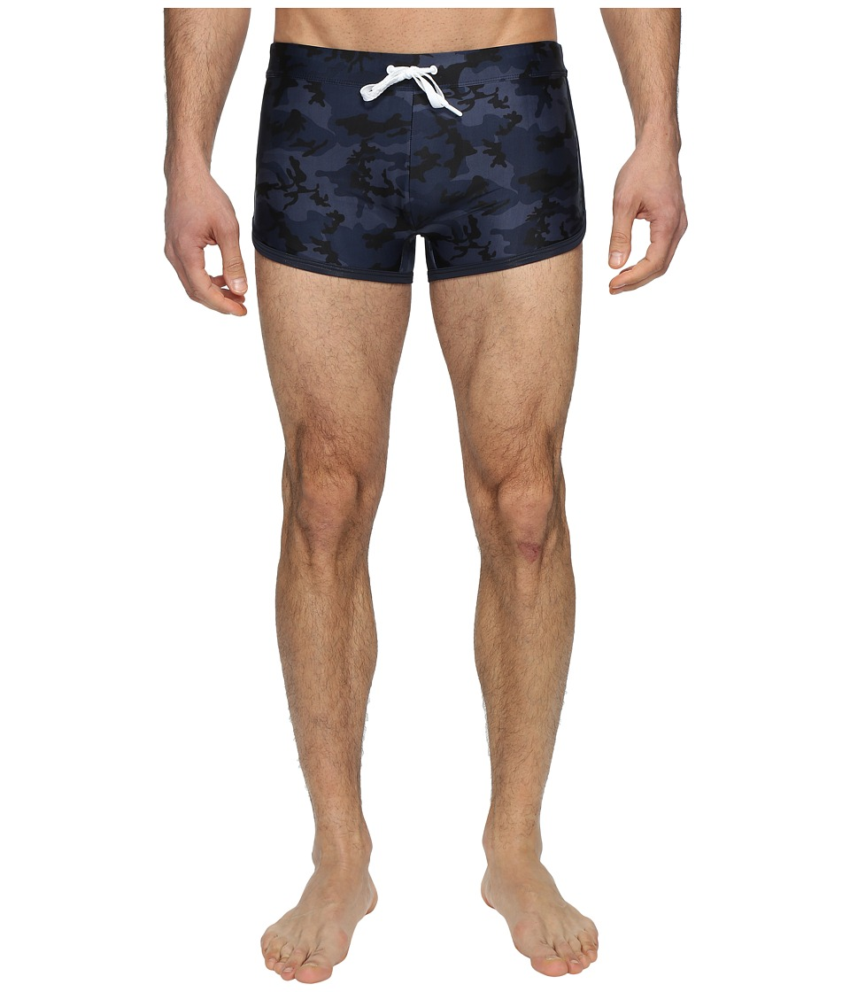2(X)IST - Cabo Jogger (Camo Navy) Men's Swimwear