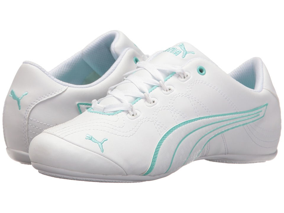 PUMA - Soleil v2 Comfort Fun (Puma White/Puma White) Women's Shoes