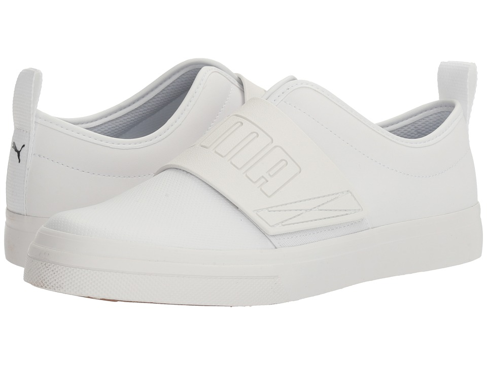 PUMA - EL Rey Fun (Puma White/Puma White) Men's Shoes