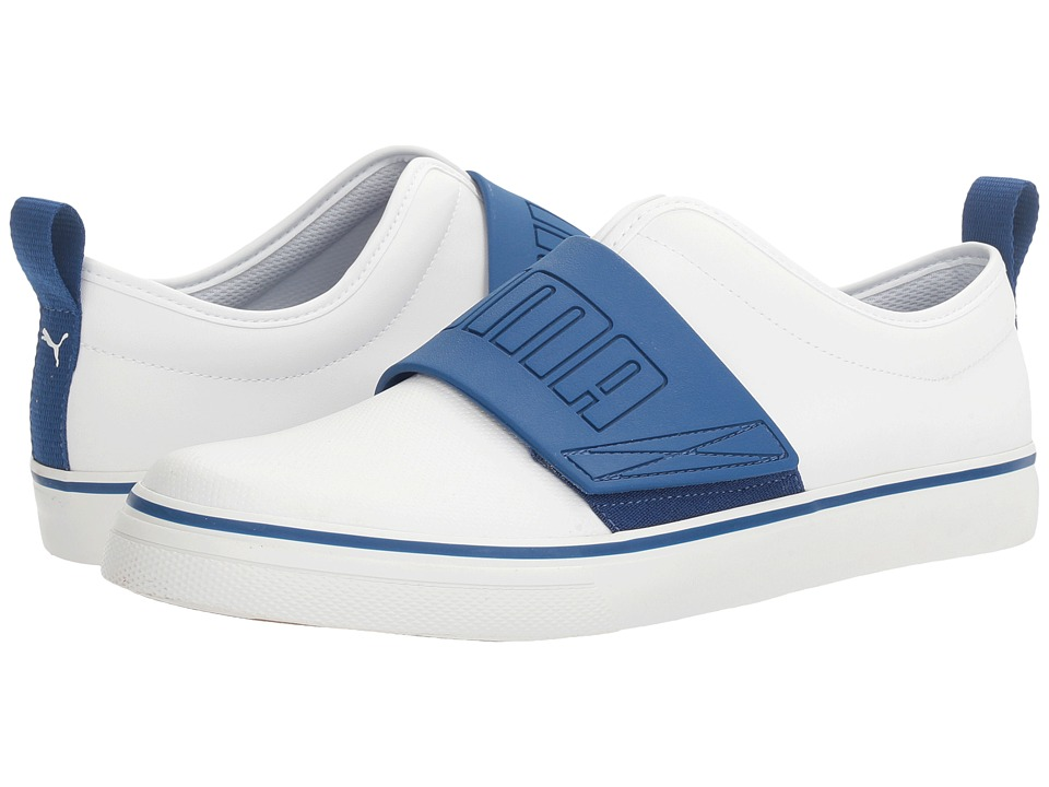 PUMA - EL Rey Fun (PUMA White/True Blue) Men's Shoes